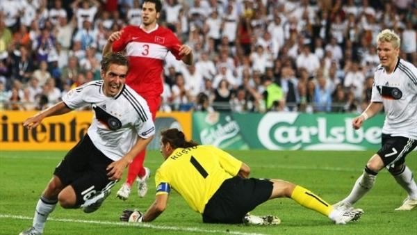 Гол Лама в матче с Турцией на Евро 2008