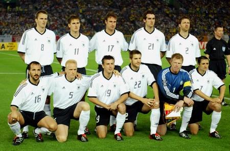 Сборная Германии на чемпионате мира 2002 в Японии и Южной Корее