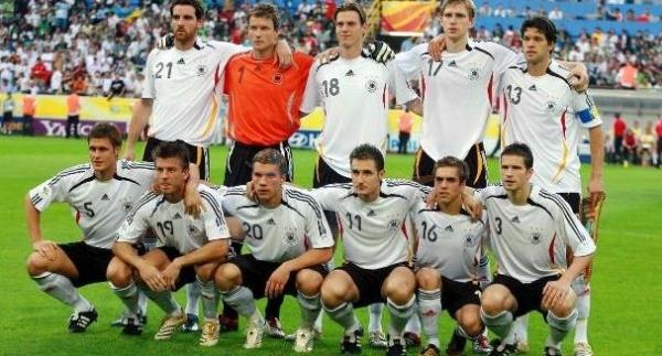 Сборная Германии на домашнем чемпионате мира 2006-ого года