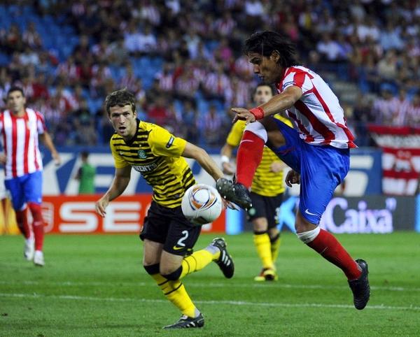 Матч Селтика и Атлетико Мадрид
