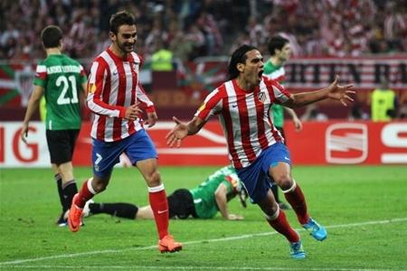 Фалькао после второго забитого гола